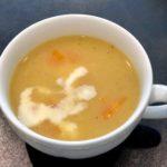 1長いもと人参のポタージュスープ